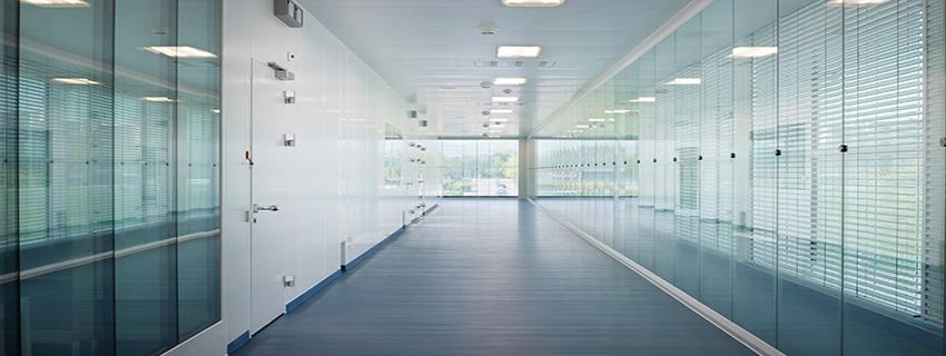 Cleanroom Glass Wall